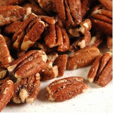 Pecans, roasted and salted - 10oz